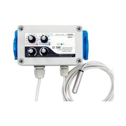 Controller temperatura, humedad y presión negativa.