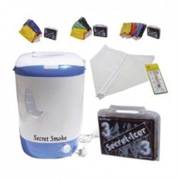 Detalle del kit Lavadora Secret Smoke + Secret Icer.
